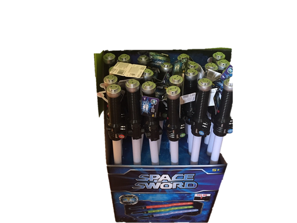 Galaxy Warriors Star Wars Style Space Sword Lightsabers