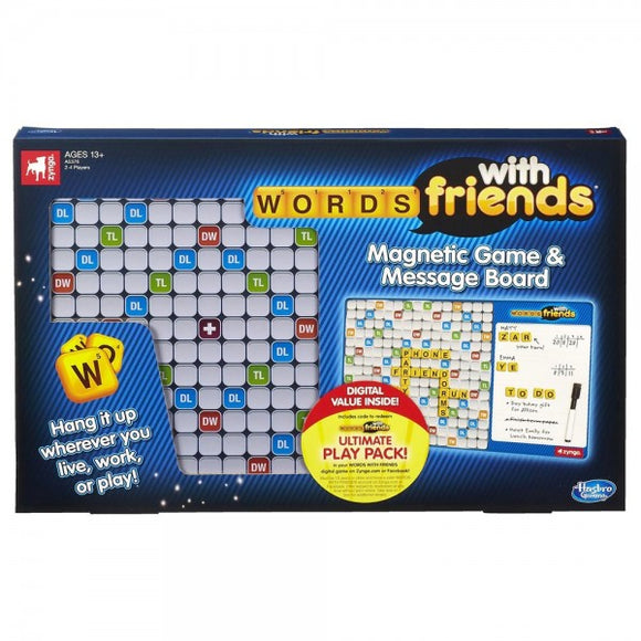 Games Words With Friends Magnetic Game & Message Board