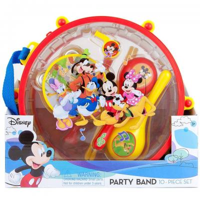 Disney Mickey Mouse and Friends Party Band 10 Piece Music Set