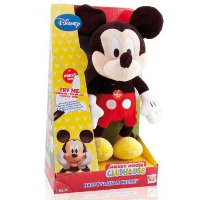 Disney Mickey Mouse Clubhouse Happy Sounds Plush Mickey