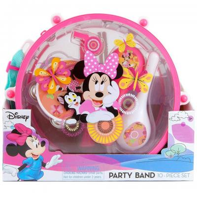 Disney Minnie Mouse Party Band 10 Piece Music Set