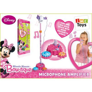 Disney Minnie Mouse Microphone with Amplifier