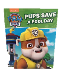 Soft Cover Books Paw Patrol - Pups Save A Pool Day Book