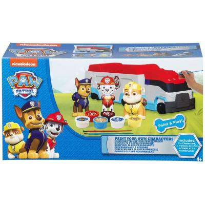 Paw Patrol Paint Your Own Characters - Colouring , Arts , Art