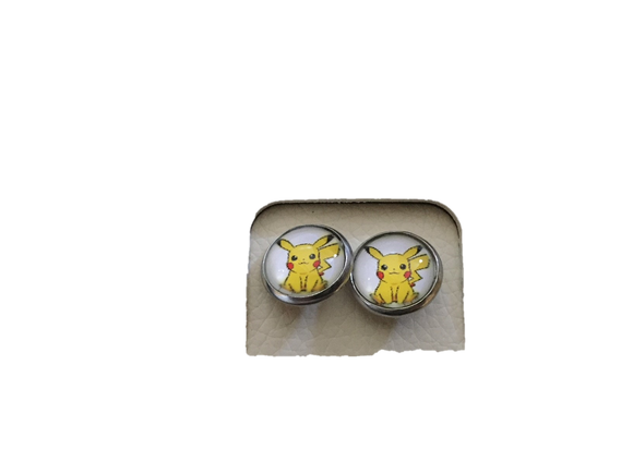 Pokemon Pikachu Earrings - earrings