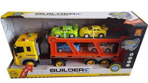 Friction Powered Truck with cars