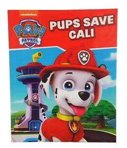 Soft Cover Books Paw Patrol - Pups Save Cali Book