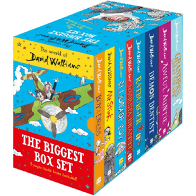 The World of David Walliams The Biggest Box Set - Books
