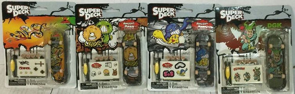Super Deck Mini Skateboards
