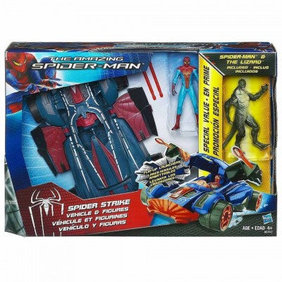 Spiderman Strike Vehicle and Figures ( spiderman strike vehicle and figures , car ,  cars )