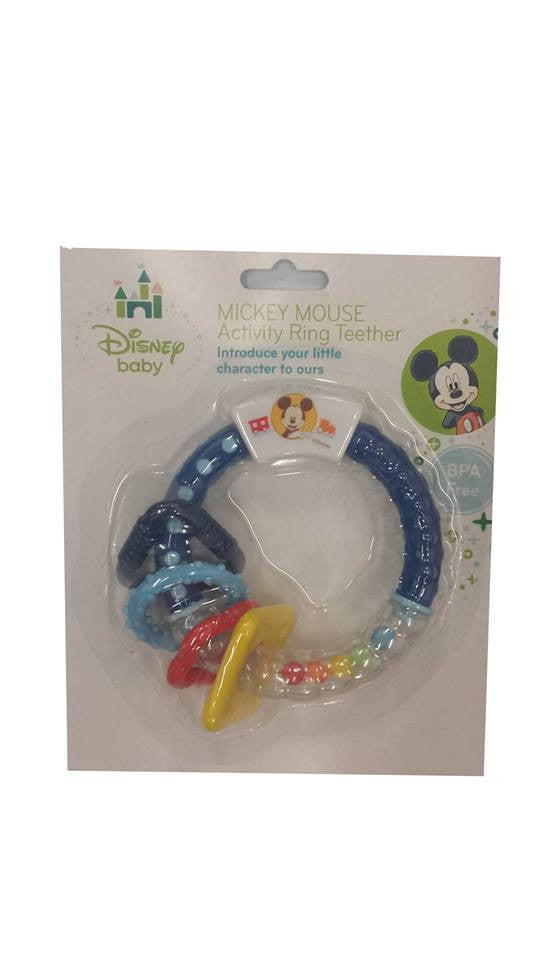 Disney Activity Ring Teether for Baby