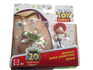 Disney Toy Story Figurines- Buzz and Jessie