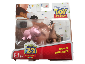 Toy Story Figurines- Hamm and Bullseye
