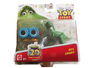 Toy Story Figurines - Rex and Lenny