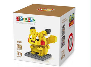 Mini Brix- Pokemon Pickachu ( mini brix pokemon pickachu )