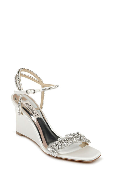 Jenna - White by Badgley Mischka Wedding Shoes
