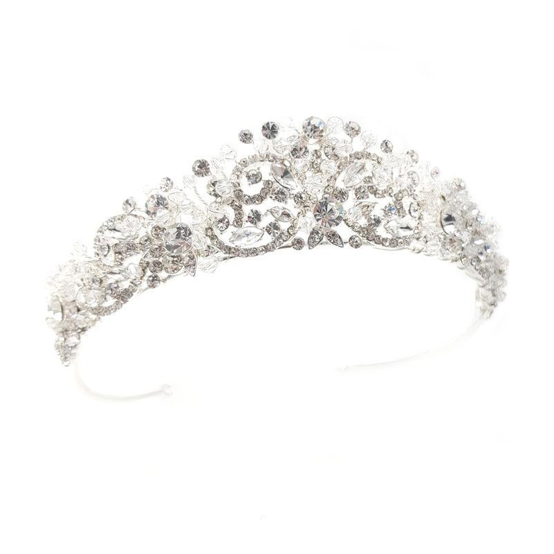 Raquel - Intricate Crystal Crown