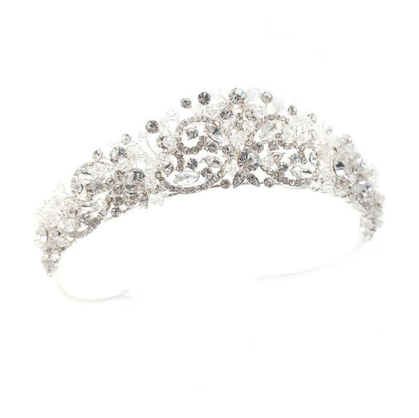Raquel - Crystal Crown (Silver/Gold)