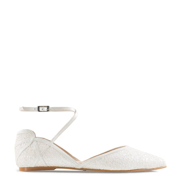 Frankie - Pearl Wide Fit by Charlotte Mills Wedding Shoes