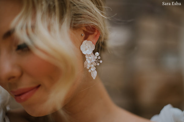 Aurelia - Floral Statement Earring