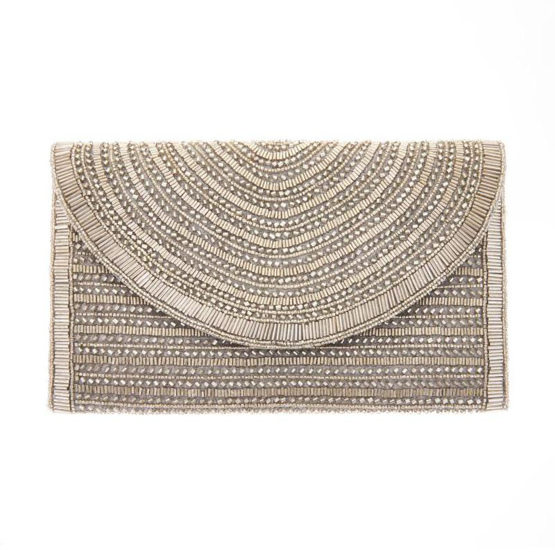 Bailey Silver Clutch