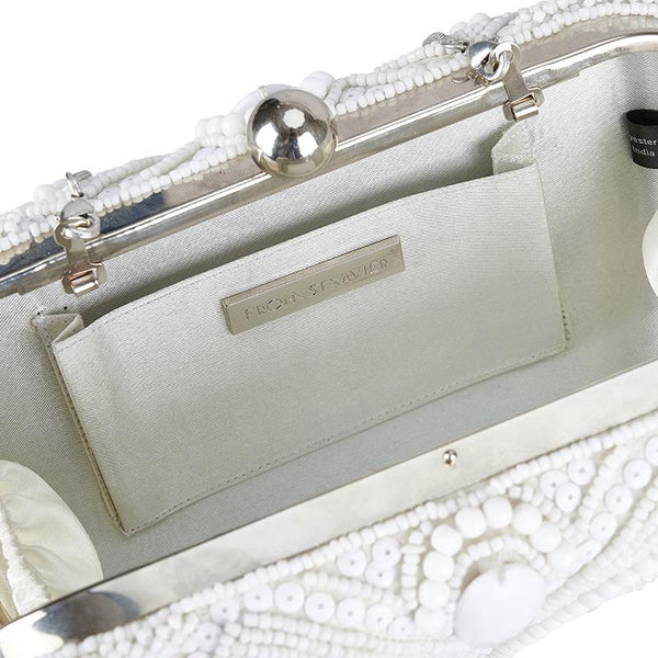 Tully - Beaded Clutch