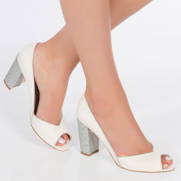 Andrea Silver - LAST PAIR SIZE 38