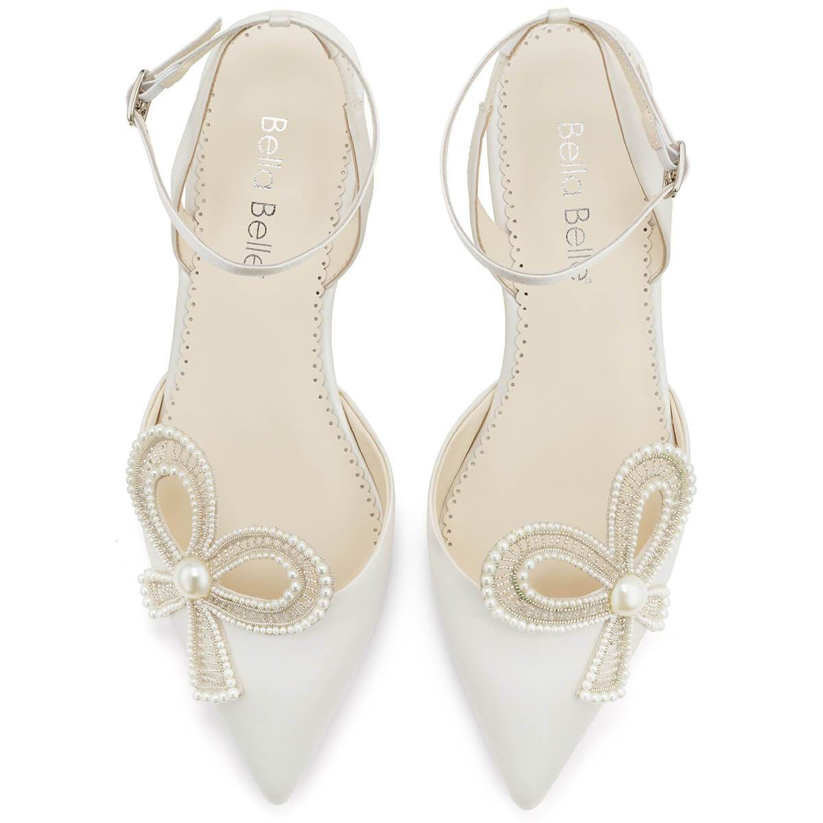 Kendra - Pearl Flat Shoes