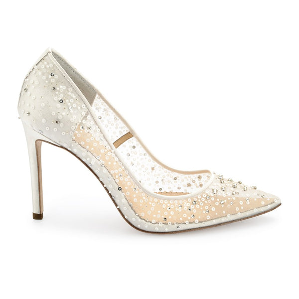 Bella Belle - Elsa - Sequin Crystal Wedding Shoes - Wedding Shoes Sydney