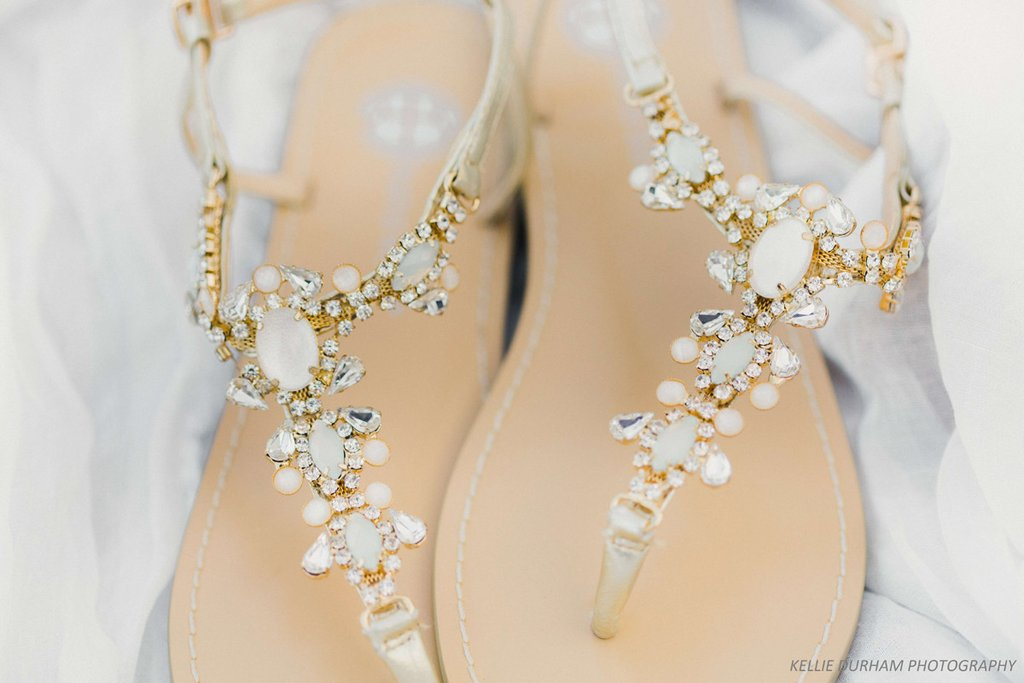 0a1c02b32 ... Crystal Jewel Sandal Bella Belle - Gold Beach Wedding Sandals Sydney -  Luna ...