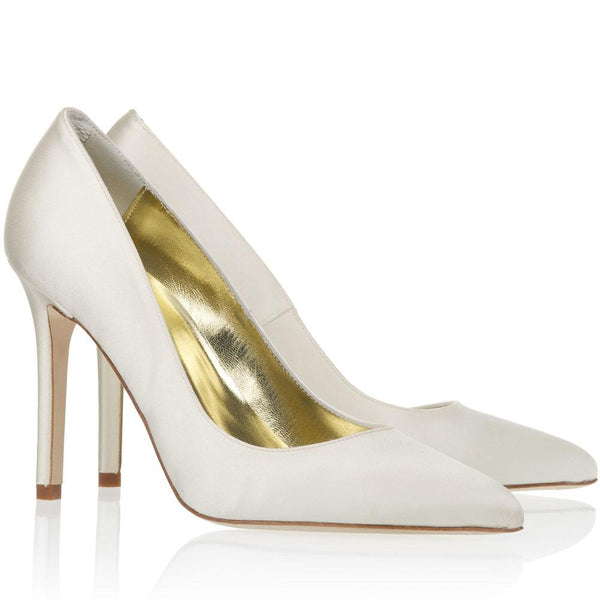 Charlie - Silk Satin Pointed