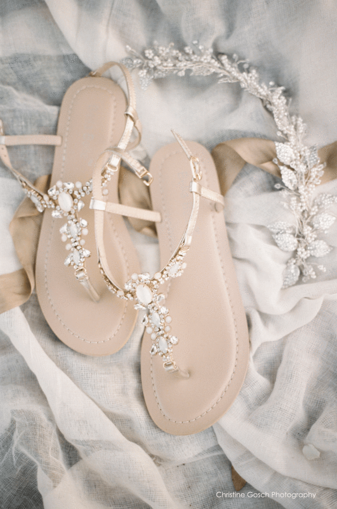15144b8b5 ... Bella Belle - Gold Beach Wedding Sandals Sydney - Luna ...