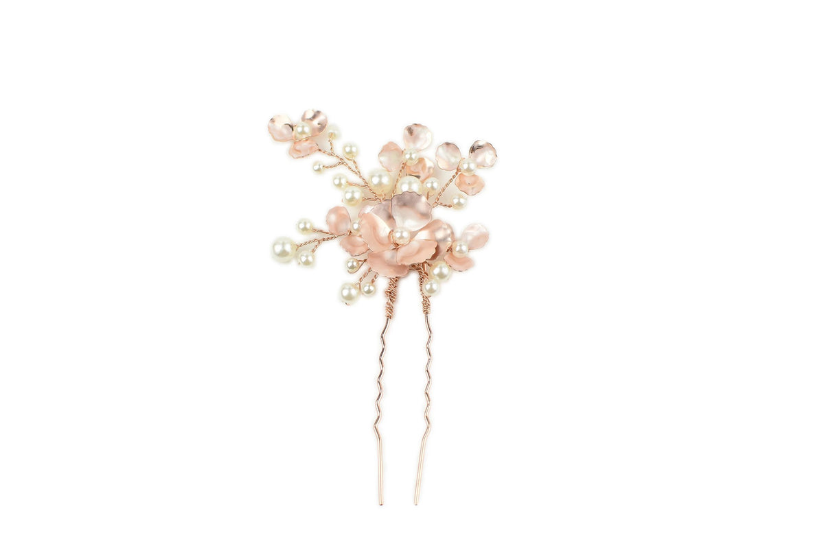 Floral Hair Pin Trio