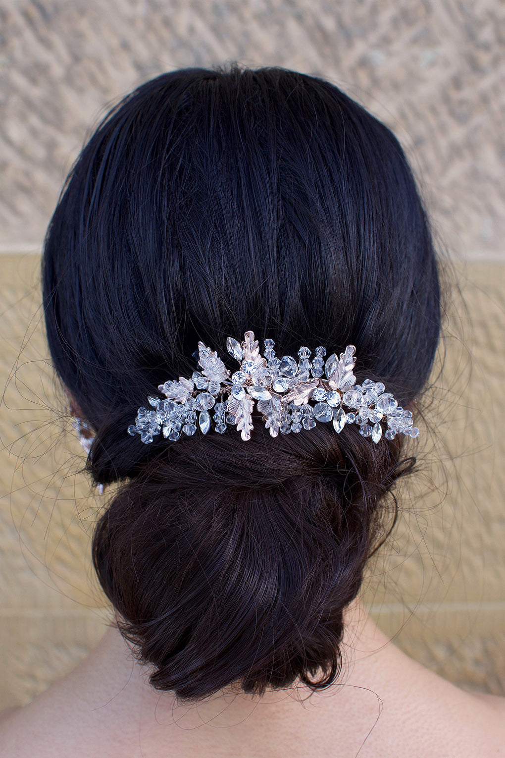 Gemma - Crystal and Beaded Embellished Clip