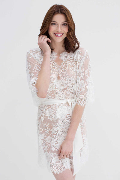 French Lace Bridal Intimates & Robes