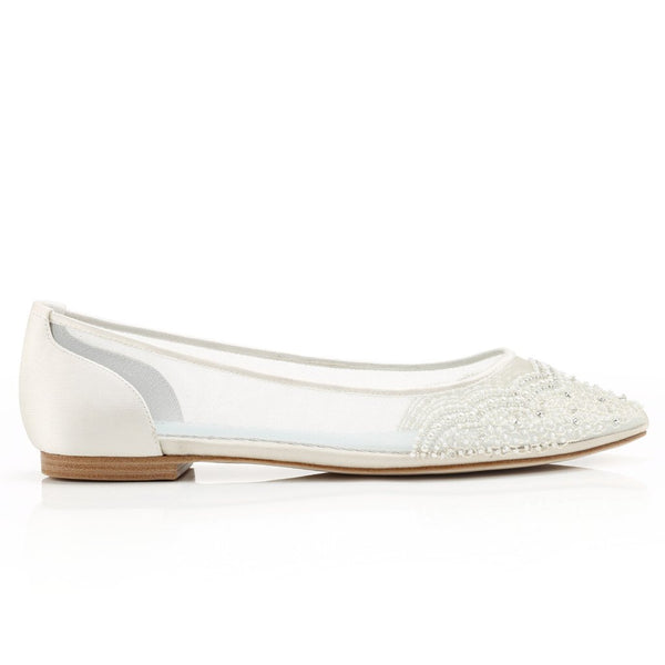 Bella Belle Flats - Flat Wedding Shoes Sydney - Bella Belle - Hailey - Flats