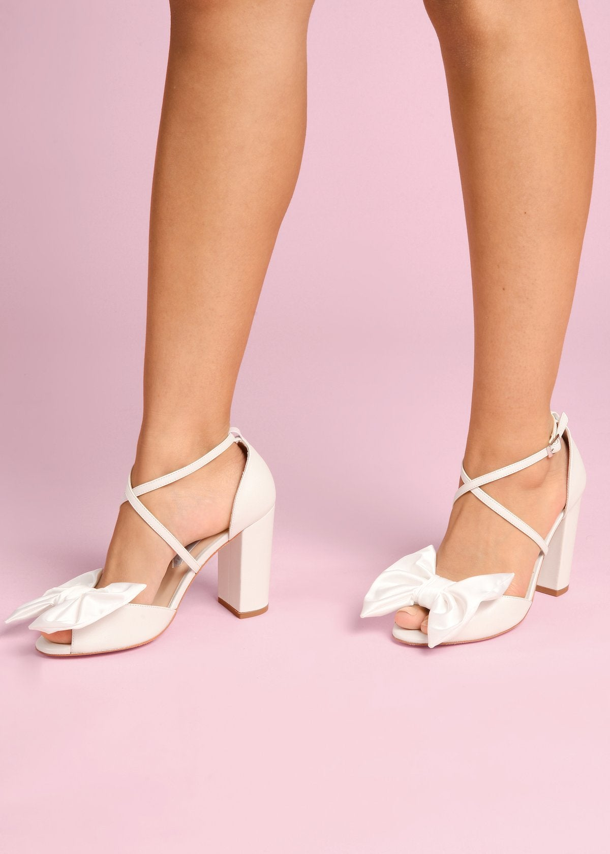 Jocelyn - Pearl by Charlotte Mills Wedding Shoes