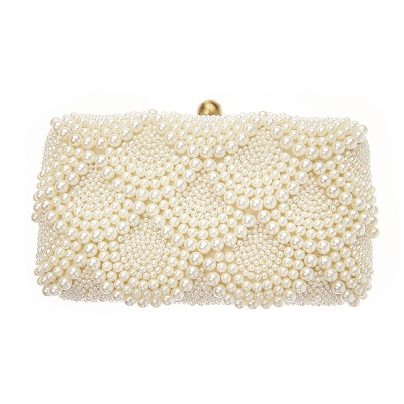 Solange Ivory Clutch
