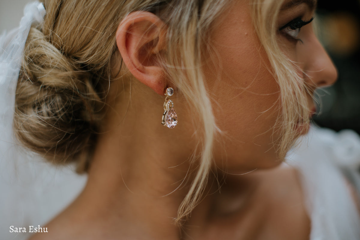 Thea - Swarovski Crystal Bridal Drop