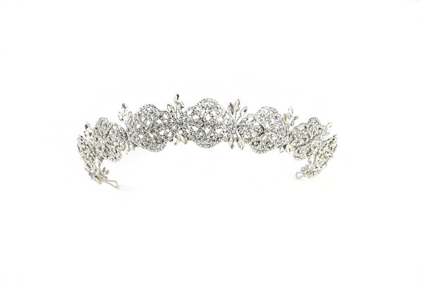 Skye - Crystal Intricate Design Crown