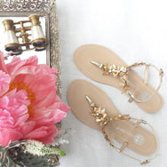 Bella Belle - Agatha - Gold Grecian Wedding Sandals Melbourne