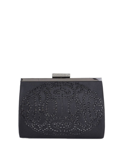Badgley Mischka Clutch - Alice Black