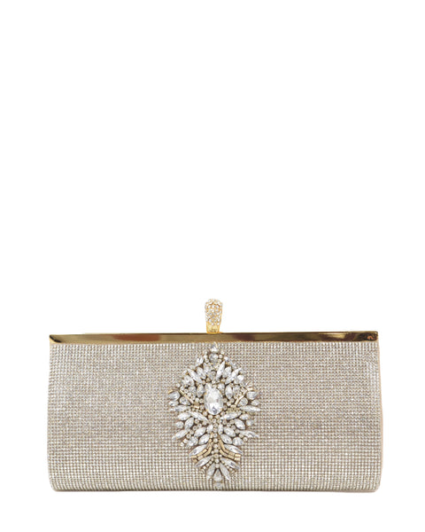 Badgley Mischka Australia - Badgley Mischka Bridal Bags - Alishia Gold