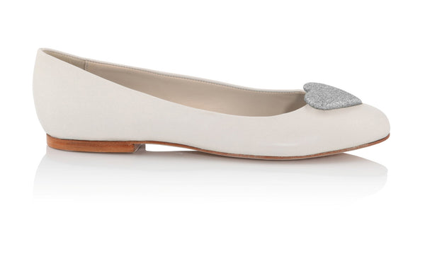 Flat Bridal Shoes - Charlotte Mills - Anabel