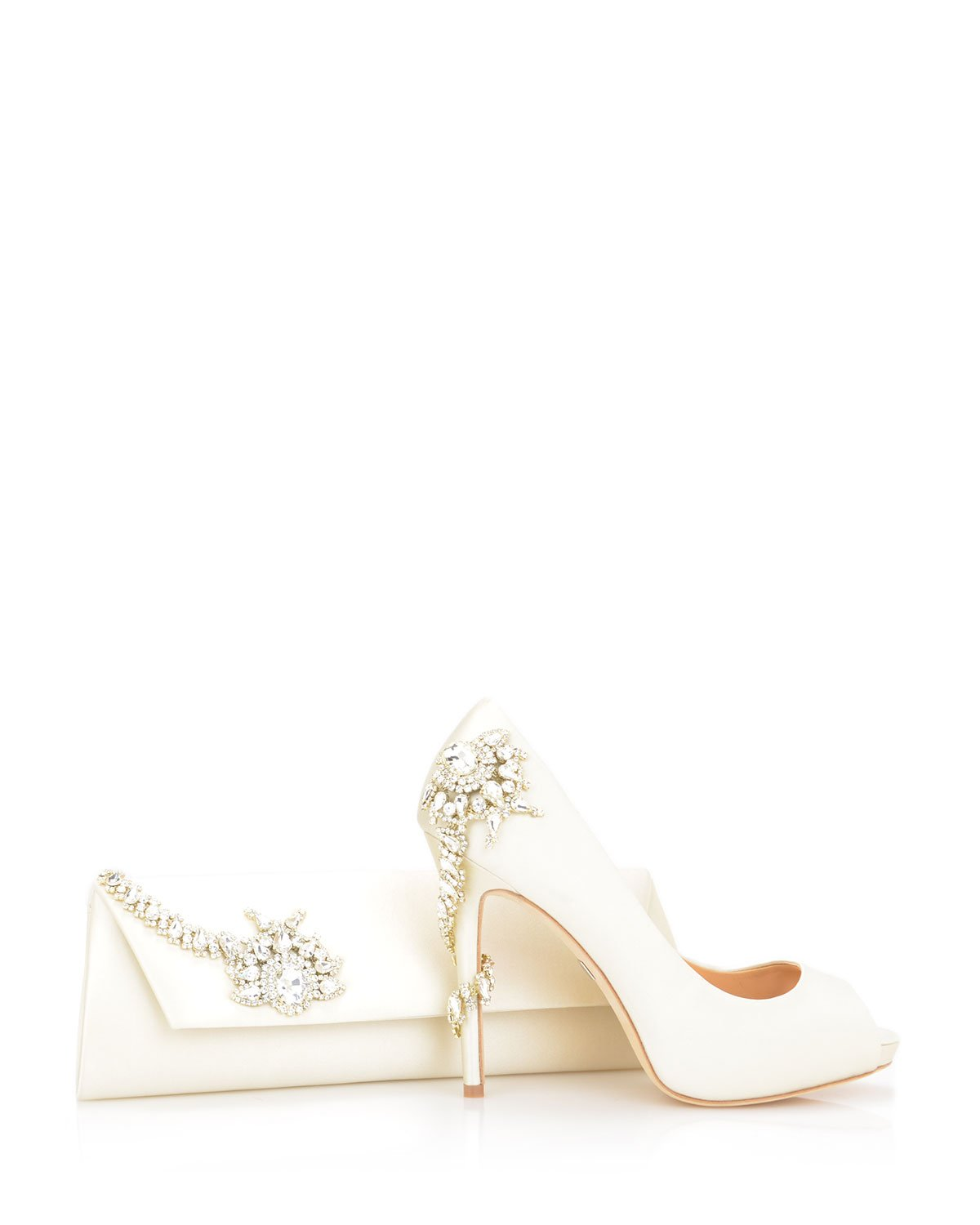 Badgley Mischka - Royal - Ivory - Wedding Shoes Melbourne