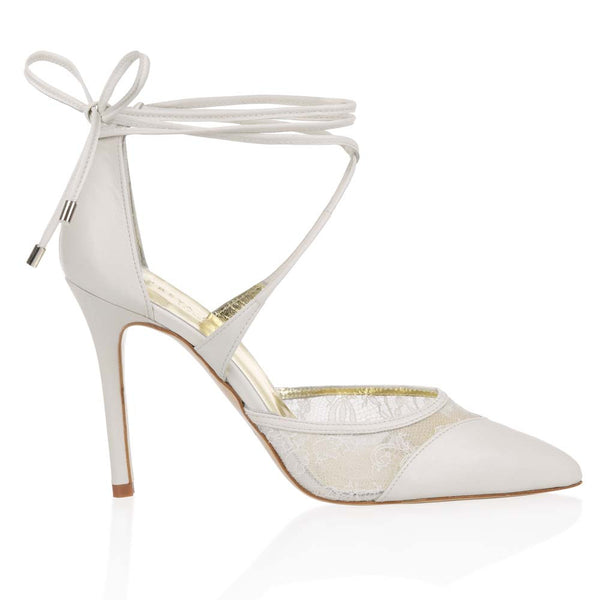 Freya Rose - Bessina - Closed Toe Lace Up Heel - Wedding Shoes Melbourne