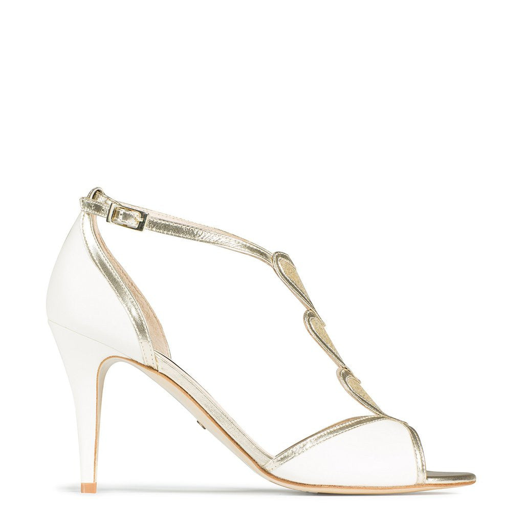 5a543dfae249 Charlotte Mills - Blondie Gold - Bridal Shoes Melbourne ...