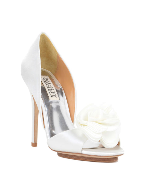 Badgley Mischka - Blossom - White/Ivory - Bridal Shoes Sydney
