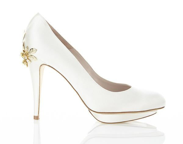 Harriet Wilde - Bridgette Gold Rose - Wedding Shoes Sydney