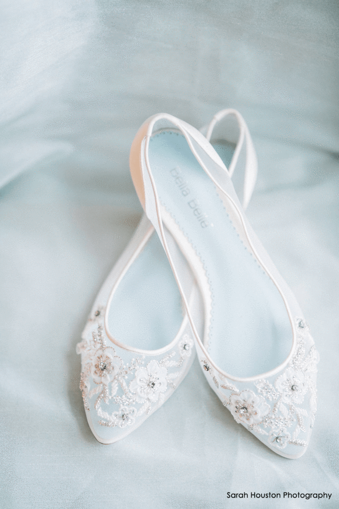 Bella Belle - Ballet Flat Wedding Shoes Adora